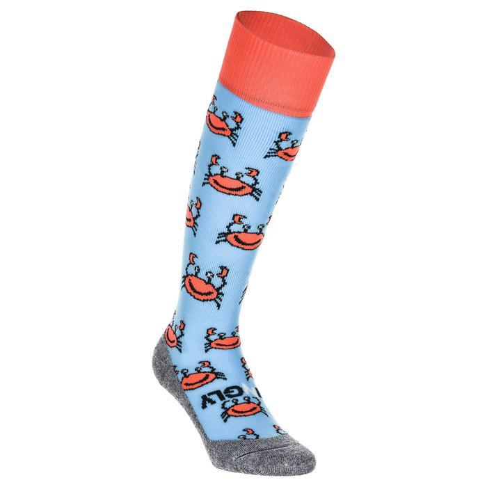 Veldhockey sokken kinderen en volwassenen Hingly krab