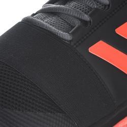 Chaussures de hockey adulte intensité faible/moyenne Divox 1.9S noir et orange