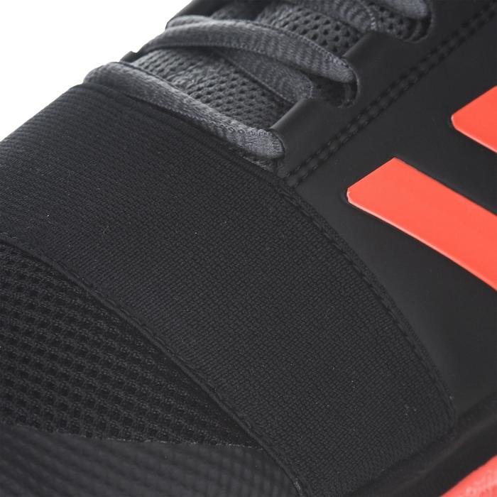 Hockeyschoenen voor volwassenen laag intensief Divox 1.9S zwart en oranje