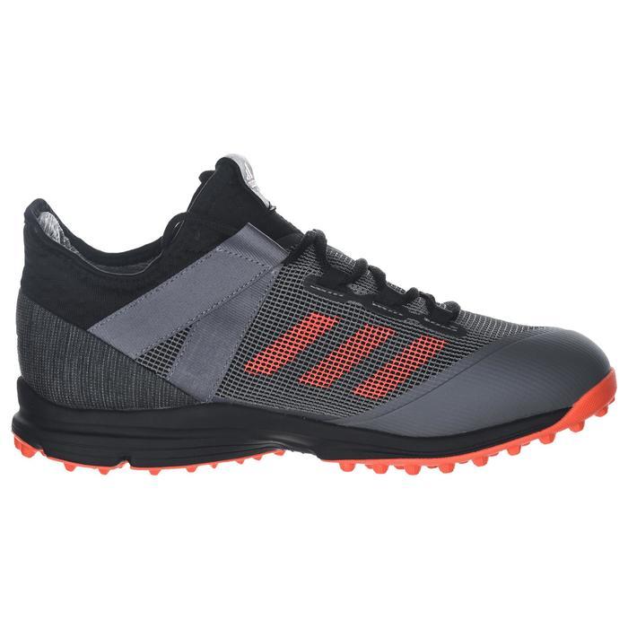cheaper new photos the sale of shoes Chaussures de hockey sur gazon homme intensité moyenne/forte Zone Dox 1.9S  noir