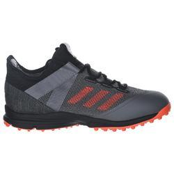 Chaussures de hockey sur gazon homme intensité moyenne Zone Dox 1.9S noir