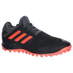 Hockeyschoenen voor volwassenen licht intensief Divox 1.9S zwart/oranje