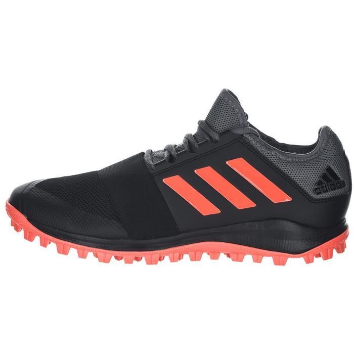 super popular e0c48 6d2ef Hockeyschoenen voor volwassenen laag intensief Divox 1.9S zwart en oranje