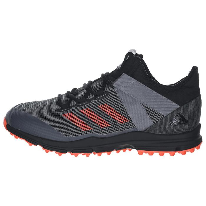 Chaussures de hockey sur gazon homme intensité moyenne/forte Zone Dox 1.9S noir