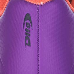 Hockeyschoenen voor kinderen laagintensief FixAndGo paars