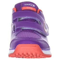Chaussures de hockey sur gazon enfant intensité faible FixAndGo pourpre