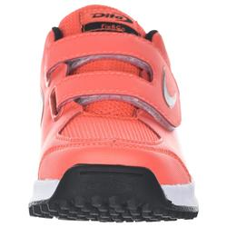 Chaussures de hockey sur gazon enfant intensité faible FixAndGo orange