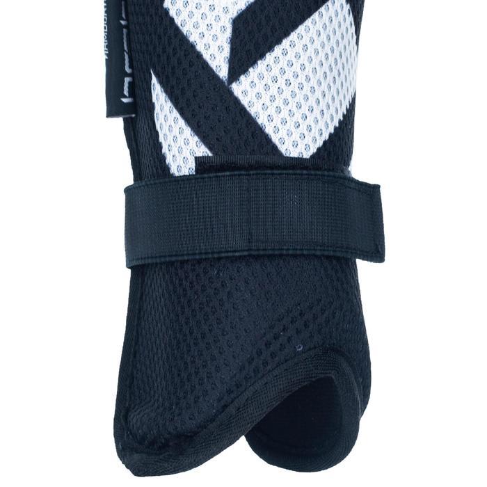 Scheenbeschermer voor veldhockey, zeer intensief, volwassenen, F3 mesh zwart