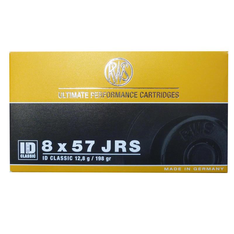 Munitions RWS 8X57JRS ID Classic 12.8g 198 grains