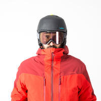 Men's Freeride SKI JACKET FR500 - Burgundy