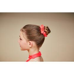 Coletero Gimnasia Femenina Domyos Rosa Coral Purpurina