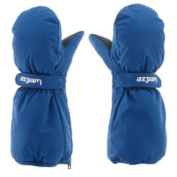 CHILDREN'S SKIING MITTENS SKI-P MI 500 BLUE