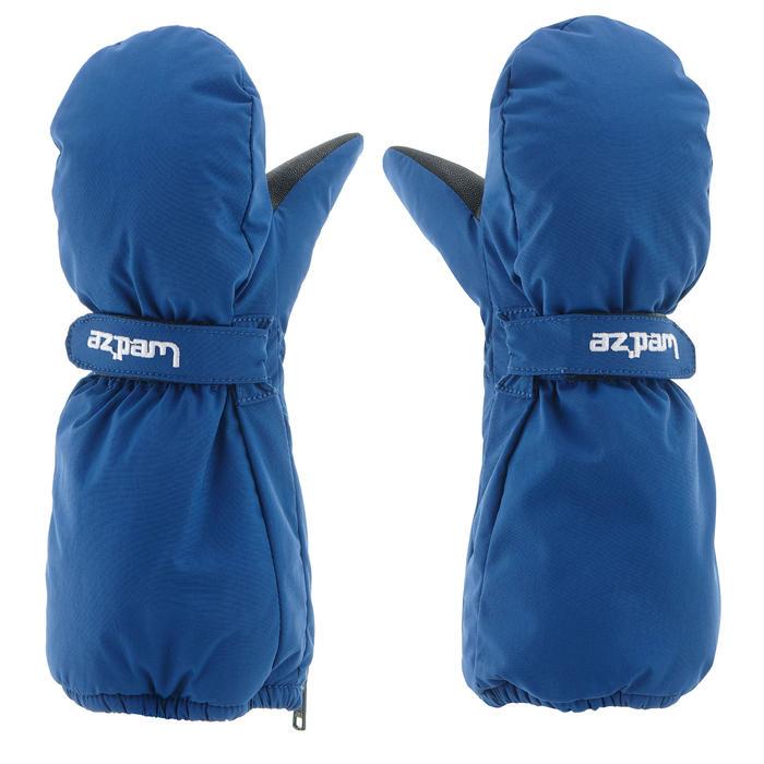 Skiwanten voor kinderen SKI-P MI 500 blauw