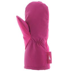 Warm Baby Sledding Mittens - Pink