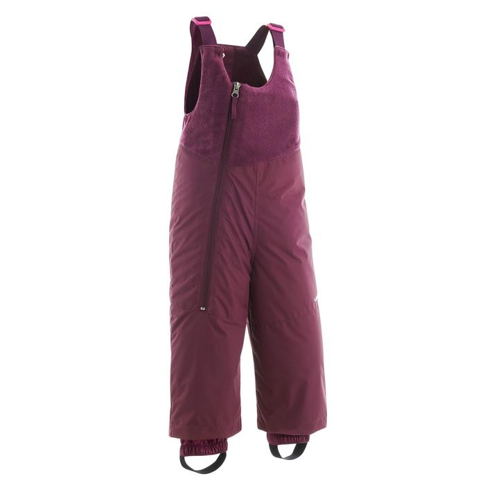 Babies' Skiing/Sledging Salopettes Warm - Purple