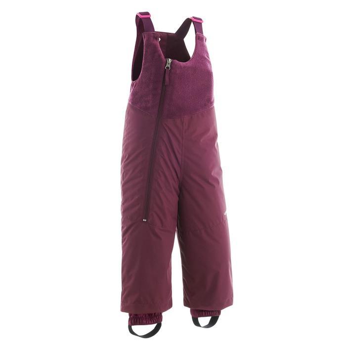 Schneeanzug warm Baby violett