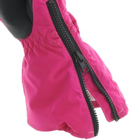 Kids' Ski Mittens 500 - Pink