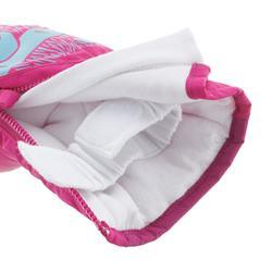 Manoplas de esquí / trineo bebé WARM rosa
