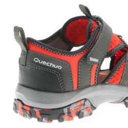 Sandales de randonnée enfant NH900 JR rouge