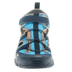 Sandalias de senderismo júnior MH150 JR azul