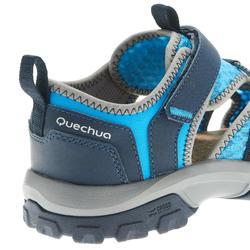 Sandales de randonnée enfant MH150 JR bleu