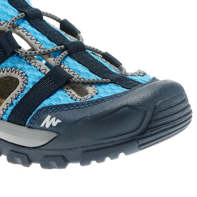 Kids' Hiking Sandals MH100 28 TO 39 - Blue