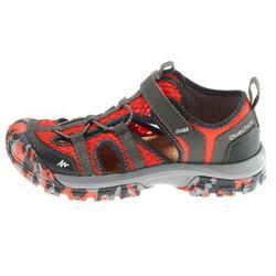 Sandalias de senderismo niños NH900 JR Rojo