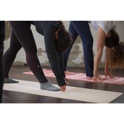 防滑瑜珈五指襪 - 灰色