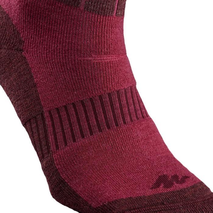 Adult Snow Hiking Socks SH500 Ultra-Warm Mid - Pink.