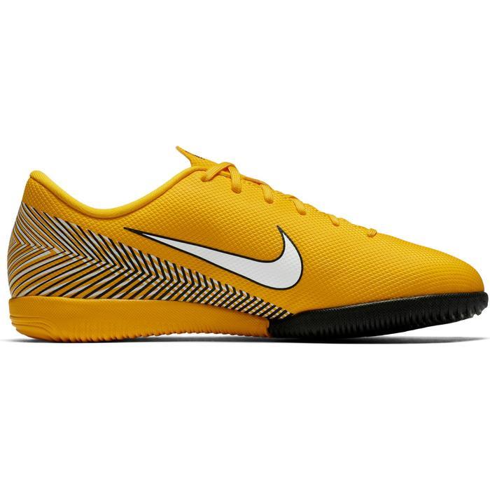 Zaalvoetbalschoenen kind Mercurial Vapor XII Academy Neymar Jr IC oranje