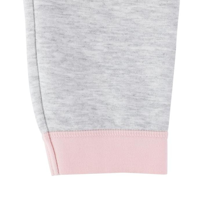 500 Spacer Baby Gym Bottoms - Grey/Pink - 1512639