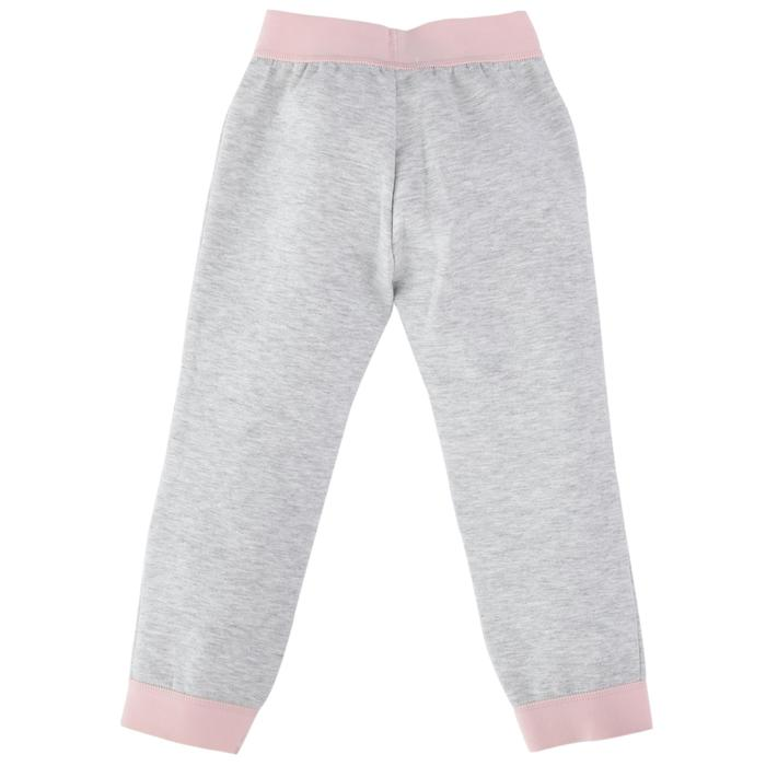 500 Spacer Baby Gym Bottoms - Grey/Pink