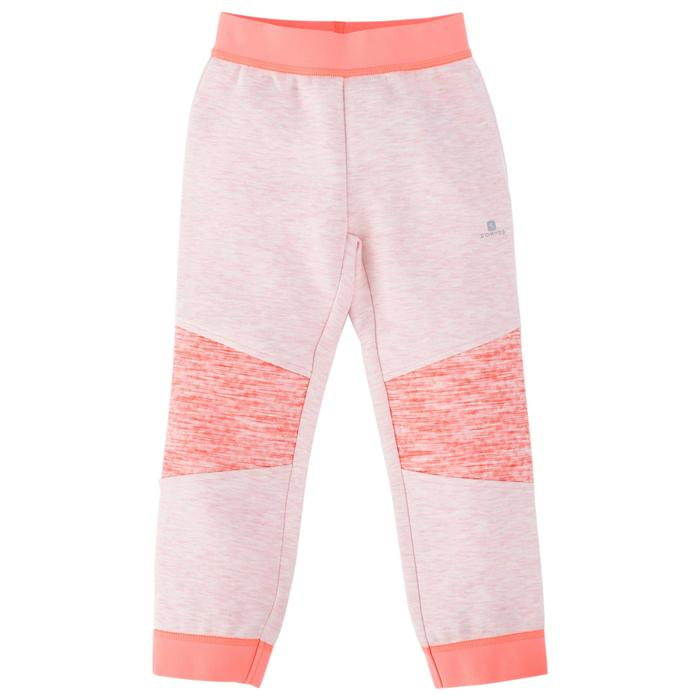 500 Spacer Baby Gym Bottoms - Grey/Pink - 1512683