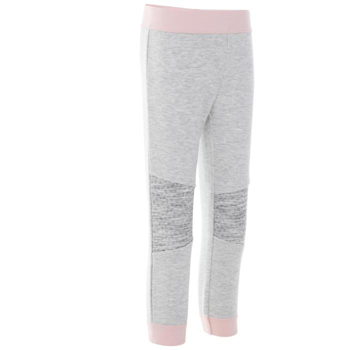 500 Baby Gym Bottoms - Grey/Pink