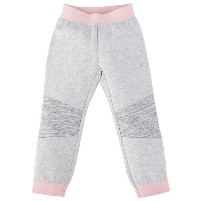 500 Spacer Baby Gym Bottoms - Grey/Pink - 1512709