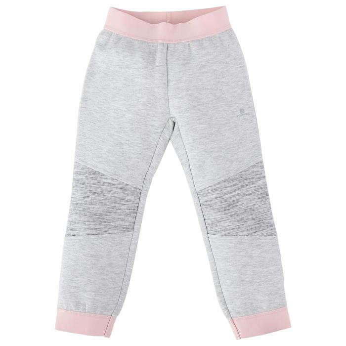 Spacer嬰幼兒健身長褲500 - 灰色/粉紅色
