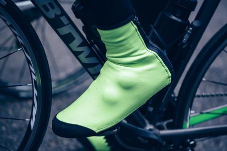 """Sur-chaussures CYCLO-SPORT ROADR 500 Jaune fluo 1/8"""""""