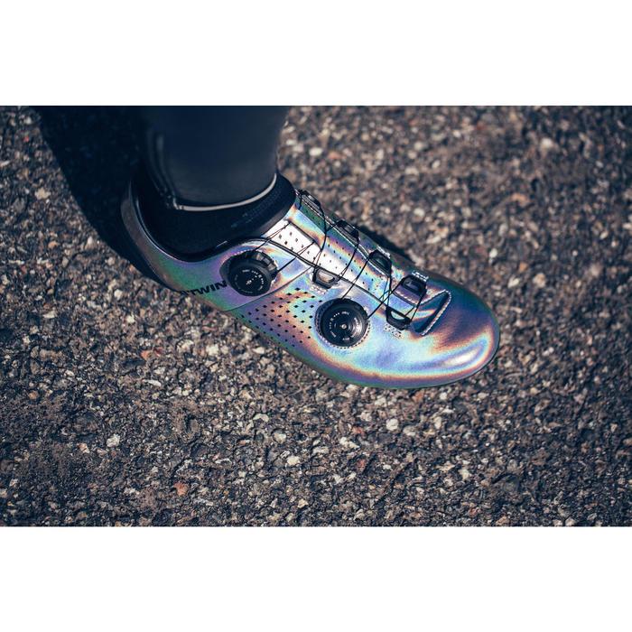 Chaussures de vélo CycloSport Van Rysel holographic gris