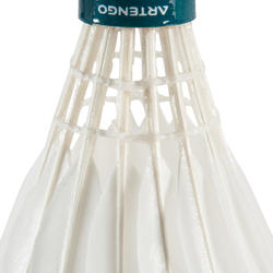 BSC930 Badminton Shuttlecocks (Speed 77) 12-Pack - White