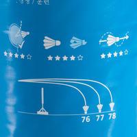 נוציות בדמינטון (Speed 77 - מאושרות בהתאם לתקן FFBAD) BSC930 באריזה של 12 יח'
