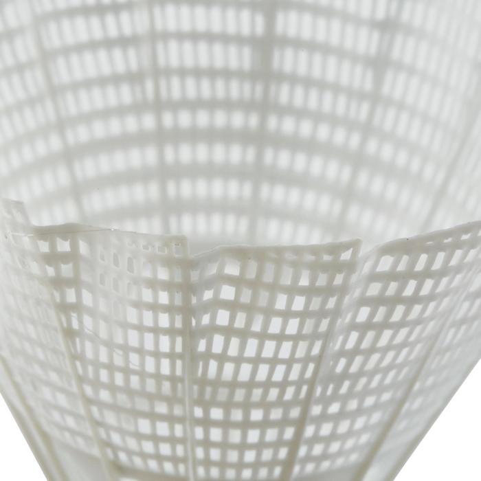 Badmintonshuttles BSC700 x6 wit