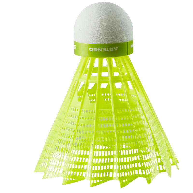 BSC700 Badminton Shuttle 6-Pack - Yellow