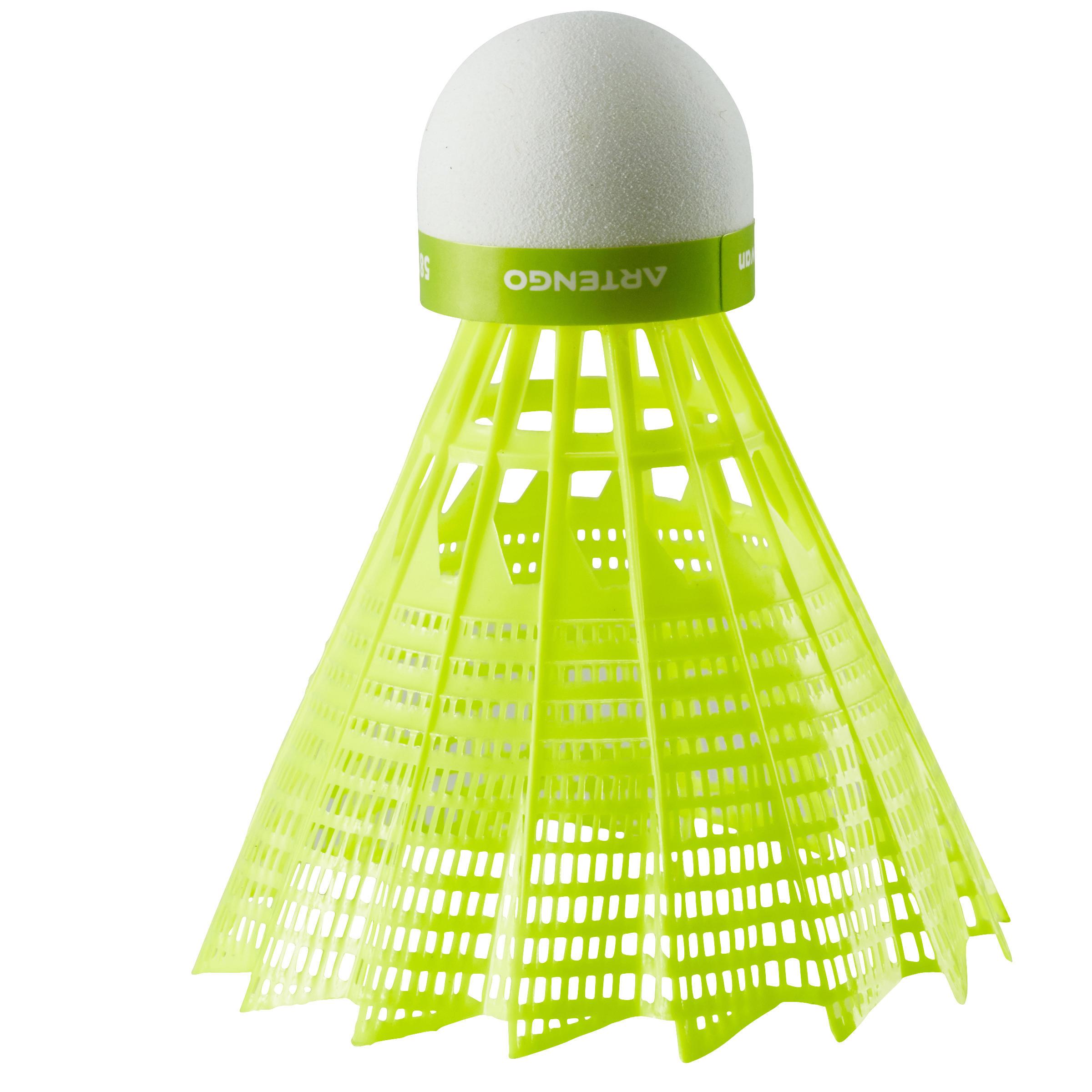 BSC700 Badminton Shuttle Single-Pack - Kuning