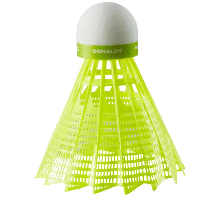 Badmintonball Federball BSC700 Kunstoff 1 Stk. gelb