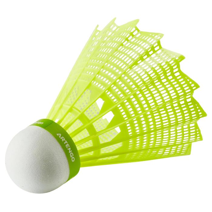 Plastik-Federball PSC 100 1er-Pack gelb
