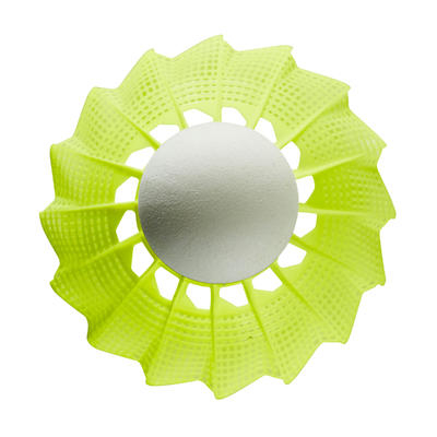 PLASTIC SHUTTLECOCK PSC 100 x 1 Single-Pack - Yellow
