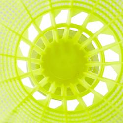 Plastic shuttle PSC 100 x 1 - per stuk - geel