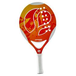 Beach tennis set 700 oranje - 151351
