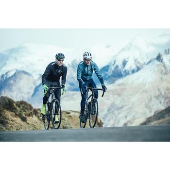Fahrrad-Winterjacke Rennrad RR 500 Herren schwarz