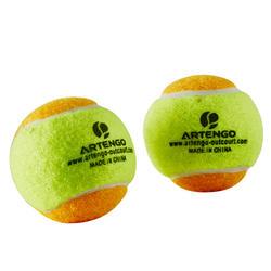 Beach tennis set 700 oranje - 151361